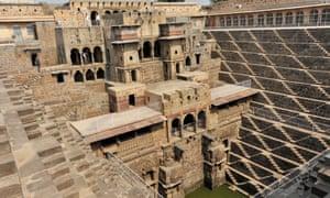 Chand Baori step well, Rajasthan.