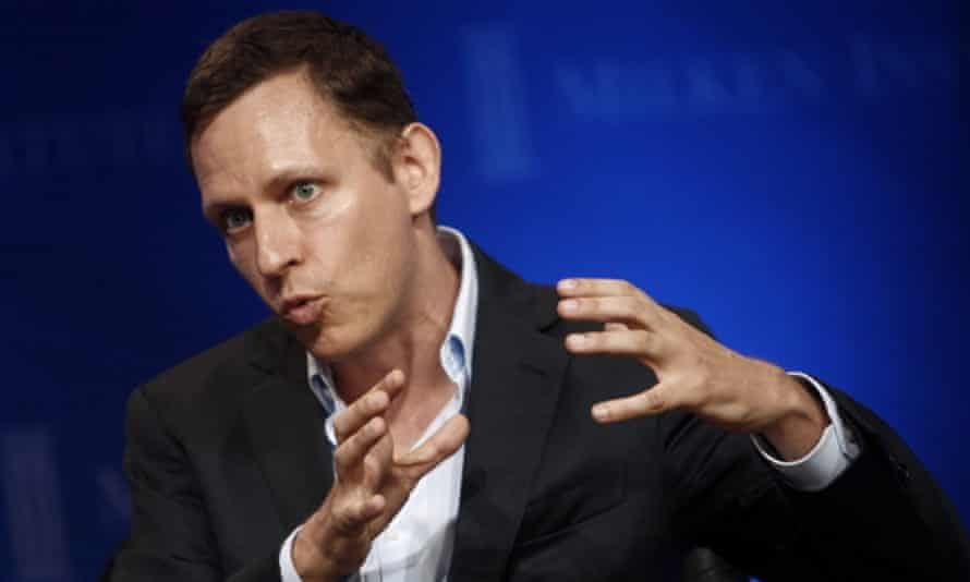 Peter Thiel once called Valleywag, Gawker's tech branch, 'the Silicon Valley equivalent of al-Qaida'.