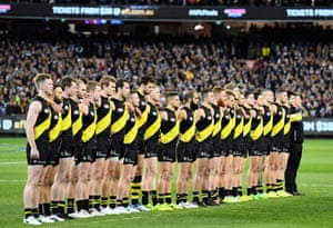 Richmond beat Geelong in the second AFL qualifying final – as it