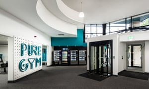 A Pure Gym site