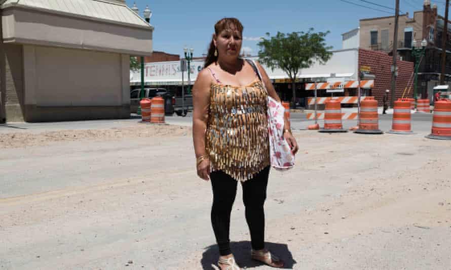 Priscilla, Downtown El Paso.