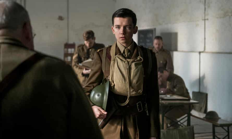 'Bug-eyed': Asa Butterfield in Journey's End