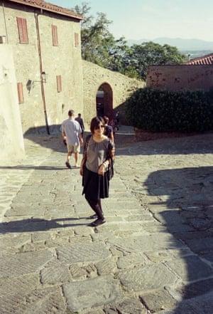 Writer Nosheen Iqbal in Tuscany, aged 21