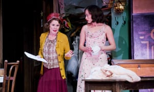 Imelda Staunton and Lara Pulver Louise in Gypsy.