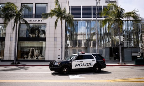 A lawsuit charges that the Rodeo Drive task force has been stopping and arresting Black people without cause.