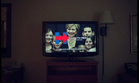 Regulations in place to track political television ads, like this one broadcast in January, 2016, simply don't exist for online media