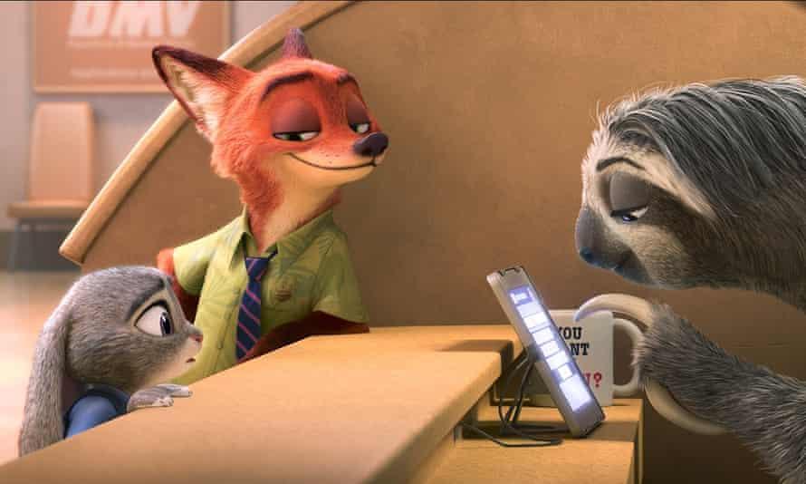 The Oscar-winning film Zootopia.