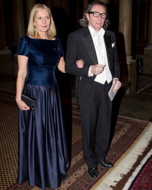 Swedish acamedy member Katarina Frostenson and her husband, Jean-Claude Arnault, who has been accused of multiple sexual assaults.