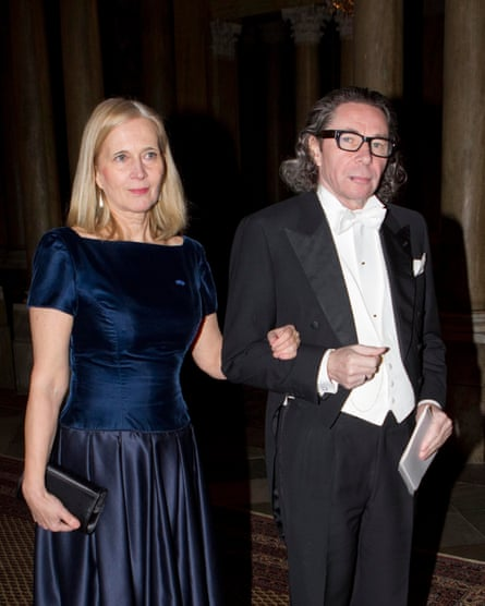 Three members leave the Swedish Academy - 11 Apr 2018Mandatory Credit: Photo by IBL/REX/Shutterstock (9624585a) Katarina Frostenson and husband Jean-Claude Arnault Three members leave the Swedish Academy - 11 Apr 2018