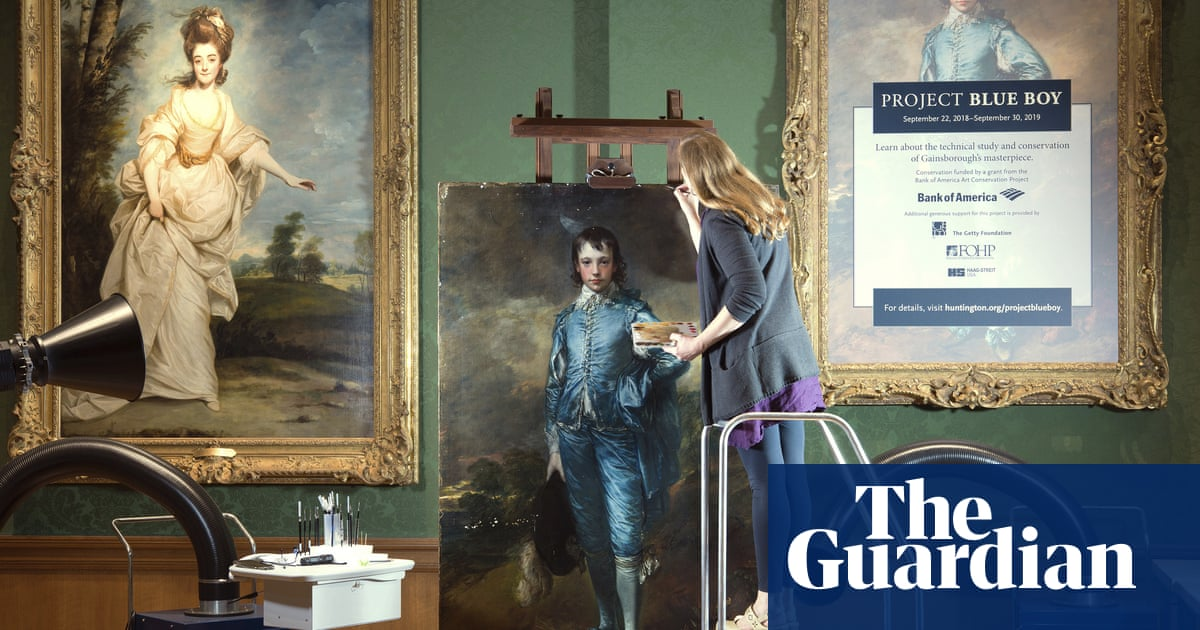 Gainsborough's Blue Boy to return to UK after 100 연령