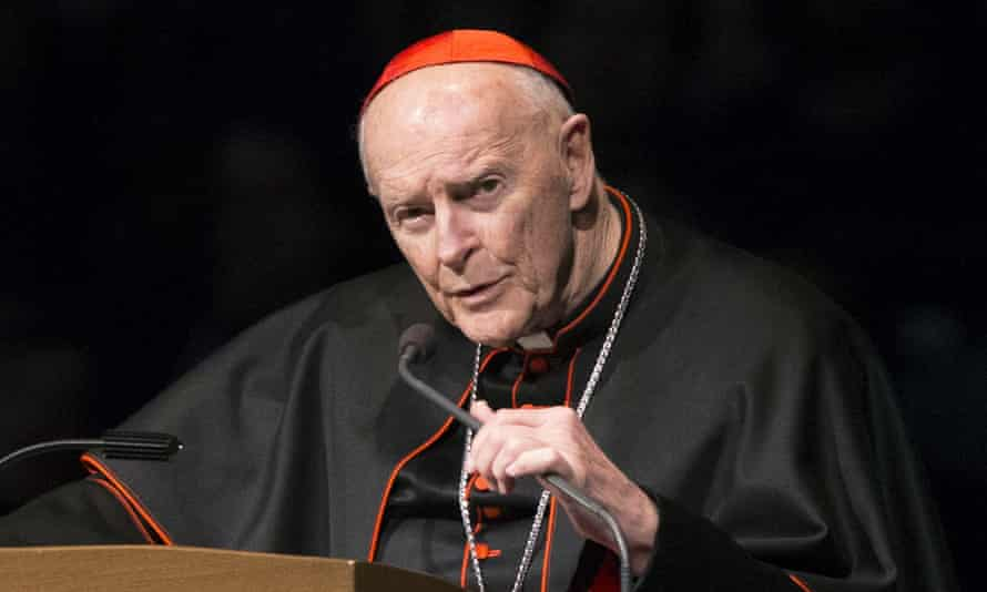 Former cardinal Theodore McCarrick in 2015.