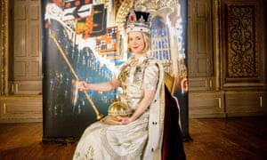 Lucy Worsley's Royal Photo Album, in which she recreates Cecil Beaton's famous coronation portrait of Queen Elizabeth II.