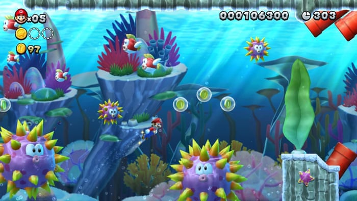 New Super Mario Bros U Deluxe review – a jump back to basics | Games
