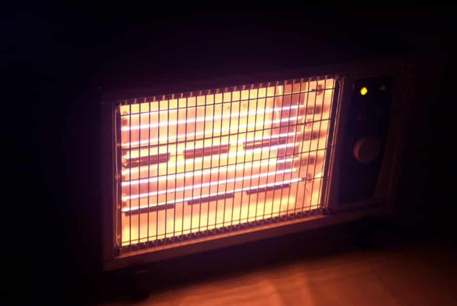 A radiant electric heater
