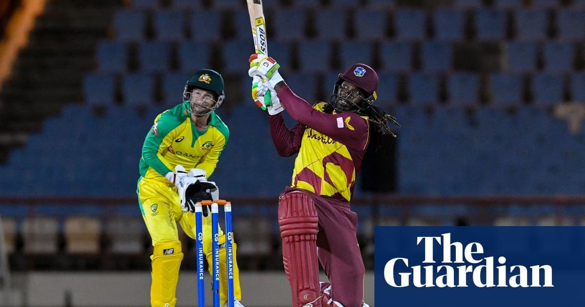 Chris Gayle reaches 14,000 T20 runs as West Indies wrap up series against Australia