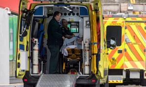 Ambulance services have been badly hit by the NHS staffing crisis.