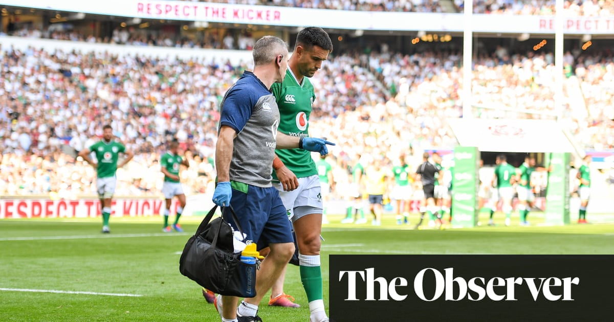 Battered Ireland leave Twickenham nursing World Cup injury headaches | Robert Kitson
