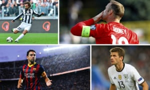 Andrea Pirlo, Wayne Rooney, Xavi and Thomas Müller have given us rare glimpses into the mechanics of a footballer's mind at work.
