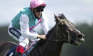 Frankie Dettori rides the favourite in the Derby on Saturday.