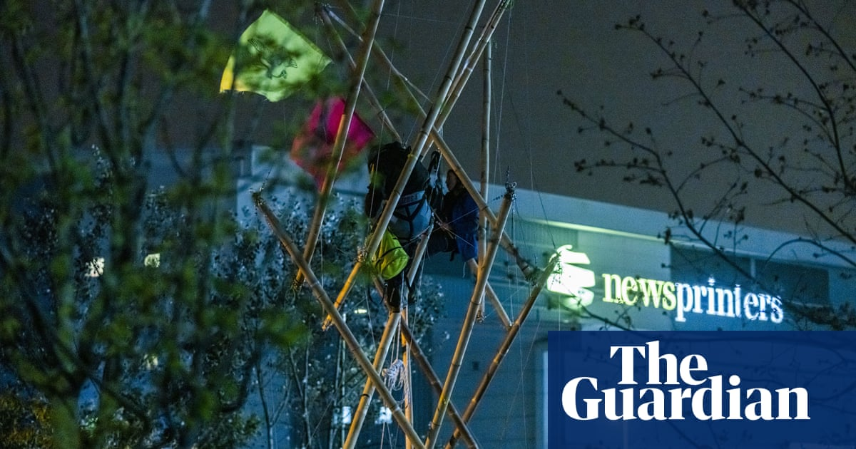 Three Extinction Rebellion activists acquitted over press protests