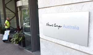 Revenue at the Australian mastheads run by Rupert Murdoch's News Corp fell by 6% last year.