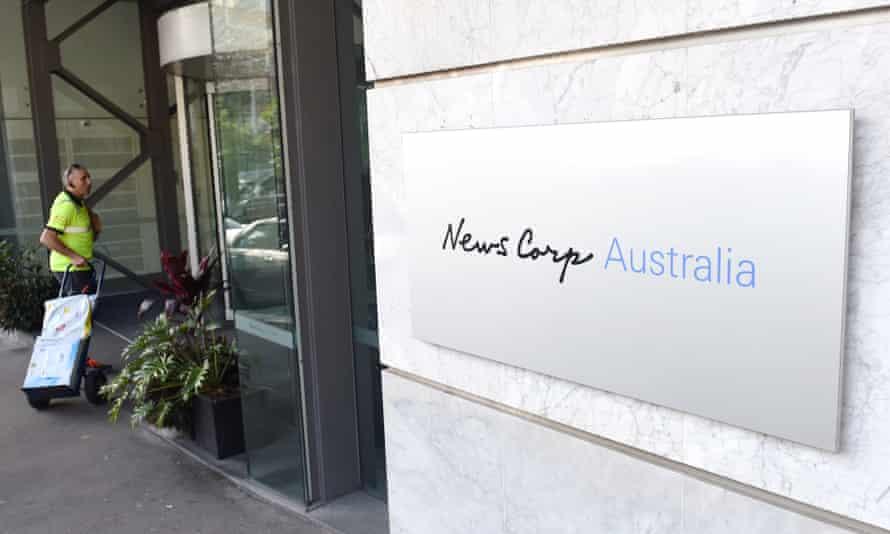 Revenue at the Australian mastheads run by Rupert Murdoch's News Corp fell by 6% last year.