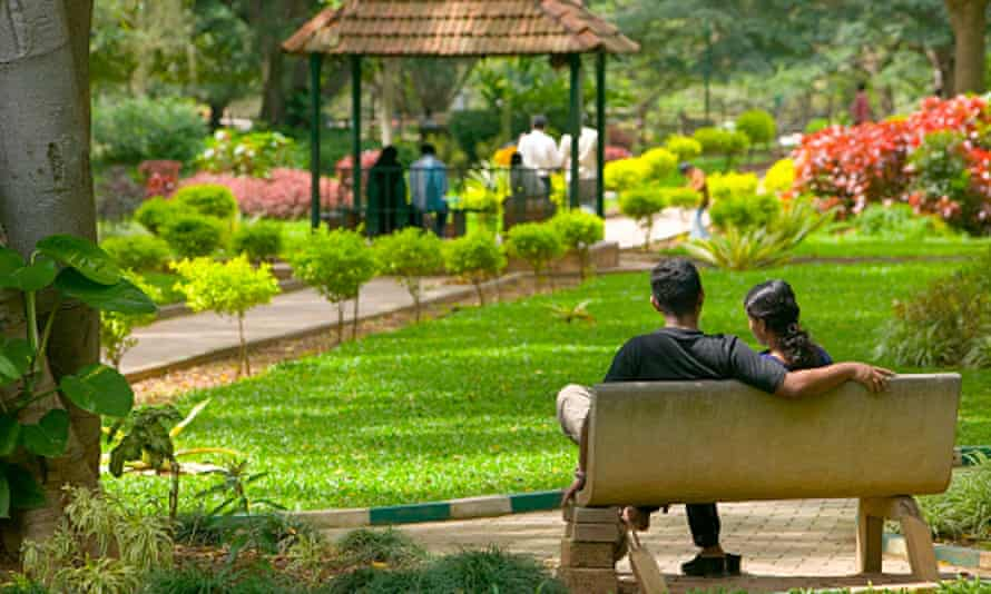 Young Couple in Cubbon Park