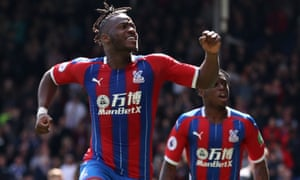 Crystal Palace's Michy Batshuayi scored twice in a wild game against Bournemouth.