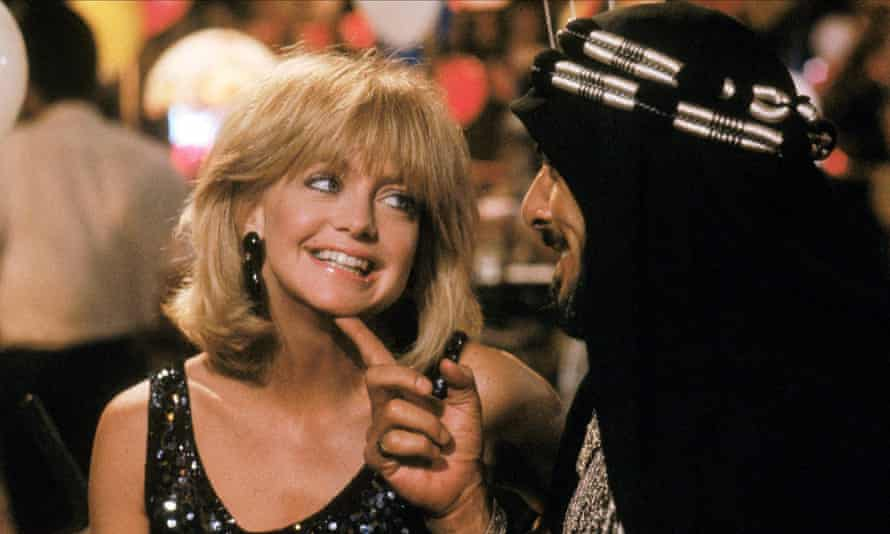 Goldie Hawn in Protocol.