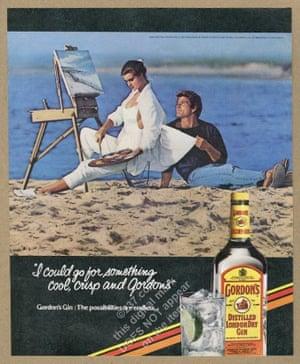 The original Gordon's gin advert.