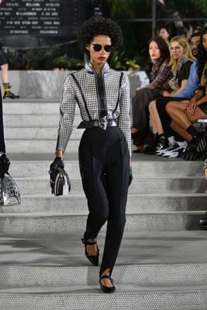 Louis Vuitton pays homage to New York in embellishment-heavy JFK show | Fashion