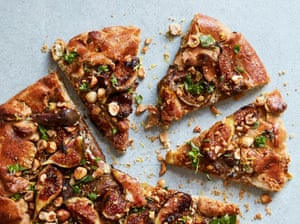 Anna Jones' fig, thyme and goat's cheese galette.