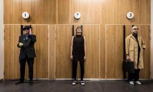 International Teachers of Pop: Adrian Flanagan, Leonore Wheatley and Dean Honer.