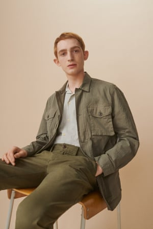 All the kit without the caboodle Hardworking basics are paired with trend pieces in John Lewis's new menswear collection. Think chore jackets in mulberry, tobacco-coloured suits and khaki separates. Prices from £15, johnlewis.com