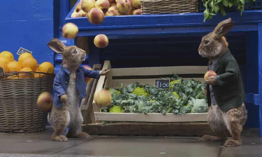 Inoffensive … Peter Rabbit 2.
