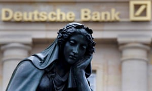 Deutsche Bank is grappling with a string of problems that are concerning shareholders.