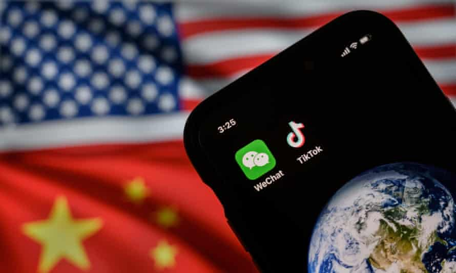 The Trump administration had attempted to block new users from downloading the apps and ban other technical transactions that Chinese-owned TikTok and WeChat both said would effectively block the apps' use in the US.