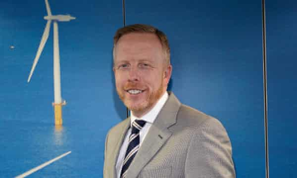 Shaun Kingsbury, head of the Green Investment Bank.