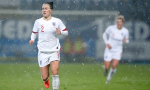 Lucy Bronze said the Lionesses are working towards the Euro 2021 finals.