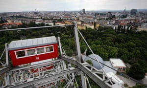 The ferris wheel in Vienna was seized from Jewish owners by the Nazis