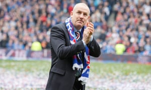 Mark Warburton during his time as Rangers manager. 'At no stage did we ever resign,' he says.