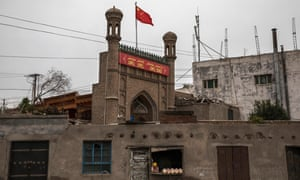 A mosque in Kashgar, Xinjiang province, China