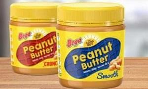 An ad for the rebranded Bega peanut butter, which once belonged to Kraft. The two have been embroiled in a contractual dispute over the rights to the brand
