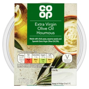 Co-op Extra Virgin Olive Oil Houmous#