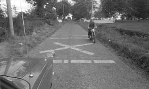 The border between Northern Ireland and the Republic of Ireland, 1971.