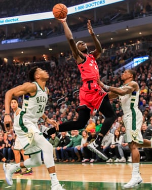 Cameroon forward Pascal Siakam has been one of the Raptors breakout stars.