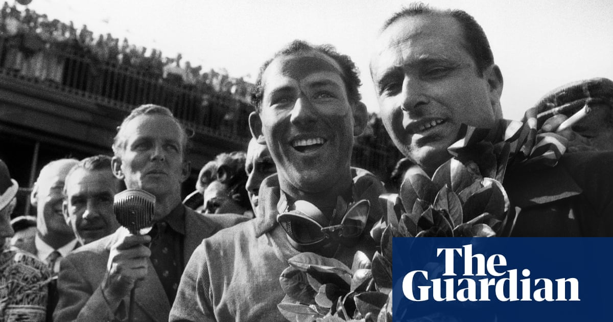 When Stirling Moss joined Fangio in the Mercedes dream team