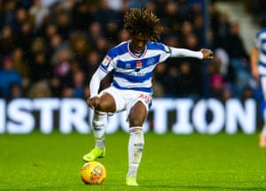 Eberechi Eze in action for QPR. He has started all 17 league games under Steve McClaren this season.