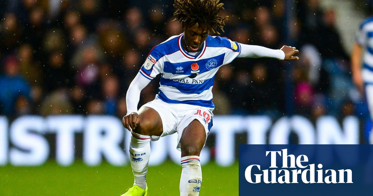 new styles ea003 a76d9 Eberechi Eze: the young playmaker with the X factor at QPR ...