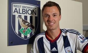 Jonny Evans of West Brom